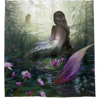 Lovely Little Mermaid Shower Curtain