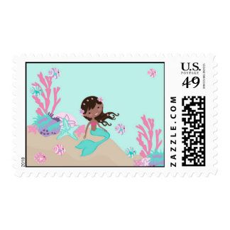 Little Mermaid Stamp AA