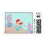 Little Mermaid Stamp Auburn