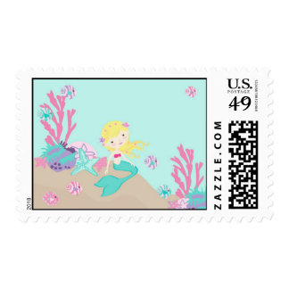 Little Mermaid Stamp Blonde