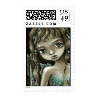 Little mermaid stamps