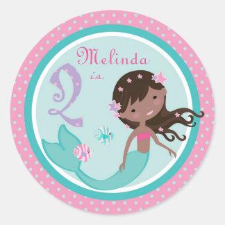 Little Mermaid Sticker AA 2