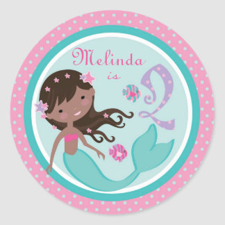 Little Mermaid Sticker AA 2B