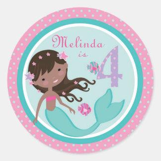 Little Mermaid Sticker AA 4B