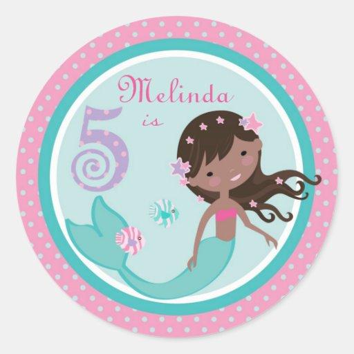 Little Mermaid Sticker AA 5