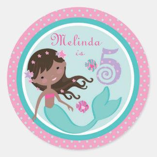 Little Mermaid Sticker AA 5B