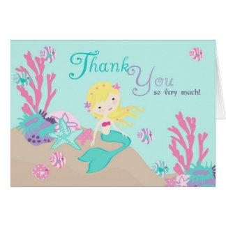 Little Mermaid TY Card 2 Blonde