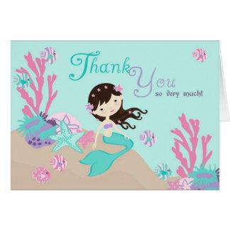 Little Mermaid TY Card 2 Brunette