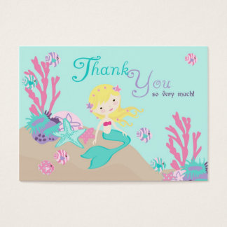 Little Mermaid TY Gift Tag L2 Blonde