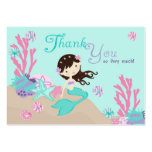 Little Mermaid TY Gift Tag L2 Brunette Business Cards