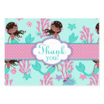 Little Mermaid TY Gift Tag L AA Business Card Template