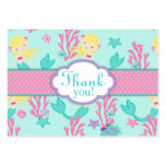 Little Mermaid TY Gift Tag L Blonde Business Card Templates