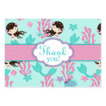 Little Mermaid TY Gift Tag L Brunette Business Cards
