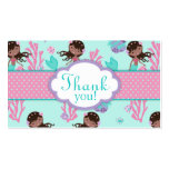 Little Mermaid TY Gift Tag M AA Business Card Templates