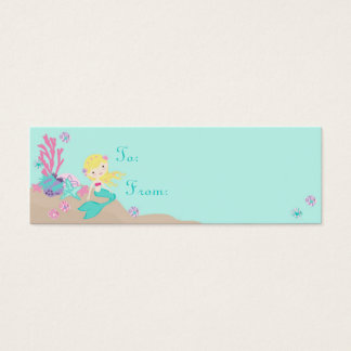 Little Mermaid TY Gift Tag S Blonde