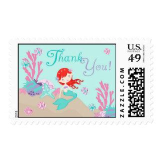 Little Mermaid TY Stamp Auburn