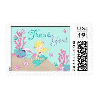 Little Mermaid TY Stamp Blonde
