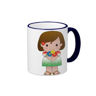 Little Mexican Girl Coffee Mug