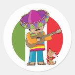 Little Mexico Classic Round Sticker