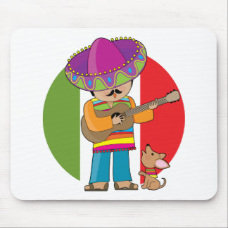 Little Mexico Mouse Pad