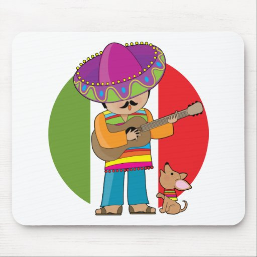 Little Mexico Mouse Pads