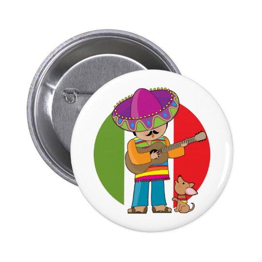 Little Mexico Pinback Button