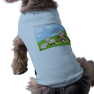 Little Milk Maid and friends Doggie Tshirt