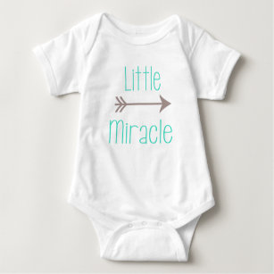 Little Miracle Baby Body Suit Baby Bodysuit