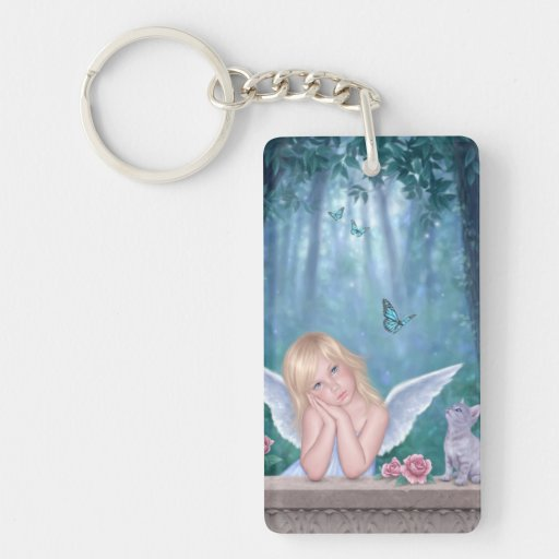 Little Miracles Angel Double Sided Keychain