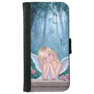 Little Miracles Angel Girl iPhone 6 Wallet Case
