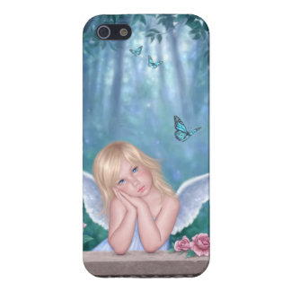 Little Miracles Cute Angel Girl iPhone 5 Case