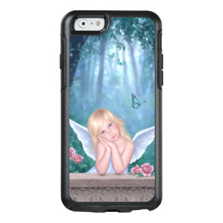 Little Miracles Cute Angel Girl with Butterflies OtterBox iPhone 6/6s Case