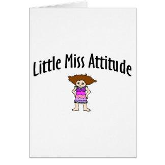 Little Miss Attitude Card