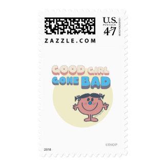 Little Miss Bad | Good Girl Gone Bad Stamp