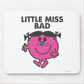 Little Miss Bad | Ready For Action Mouse Pad