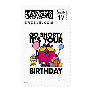 Little Miss Birthday | Go Shorty Version 17 Postage