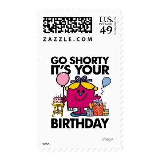 Little Miss Birthday | Go Shorty Version 17 Stamp