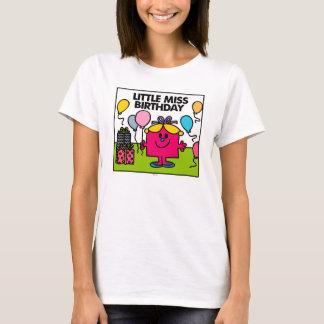 Little Miss Birthday | Presents & Balloons T-Shirt