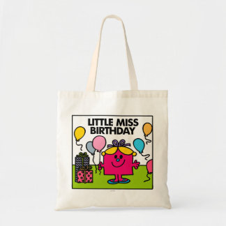 Little Miss Birthday | Presents & Balloons Tote Bag