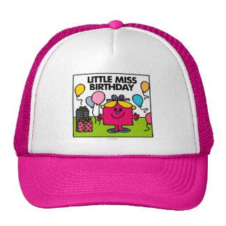Little Miss Birthday | Presents & Balloons Trucker Hat