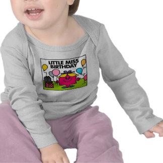 Little Miss Birthday Scene Tshirts