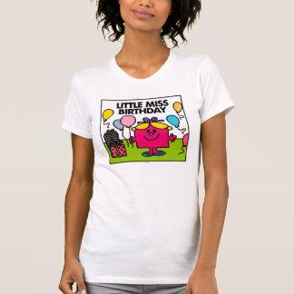Little Miss Birthday Scene T-shirt