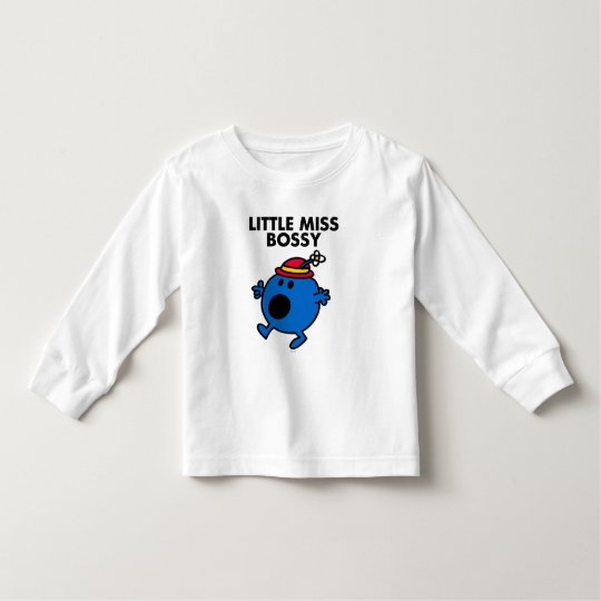 Little Miss Bossy | Black Lettering Toddler T-shirt