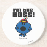 Little Miss Bossy | I'm The Boss Drink Coasters