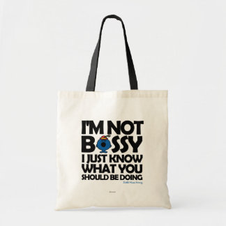 Little Miss Bossy Just Knows Budget Tote Bag