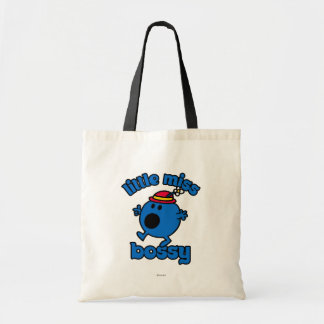 Little Miss Bossy On The Move Budget Tote Bag