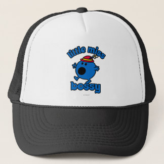 Little Miss Bossy On The Move Trucker Hat