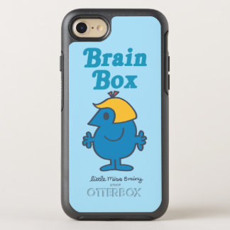 Little Miss Brainy   Brain Box OtterBox Symmetry iPhone 7 Case