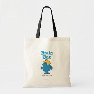 Little Miss Brainy   Brain Box Tote Bag