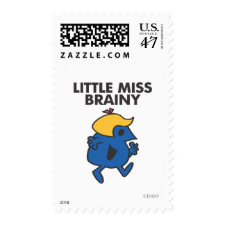 Little Miss Brainy On The Move Postage